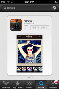 reInsta on iTunes